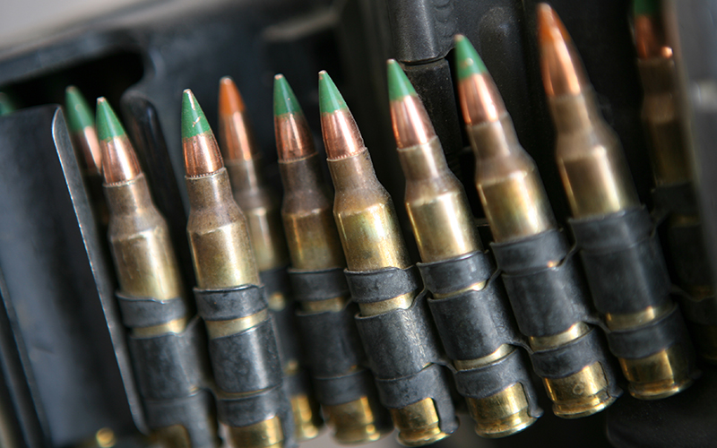 """What Makes M855 """"Green Tip"""" Ammo So Controversial? 