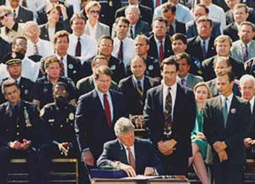 Bill Clinton Signing AWB