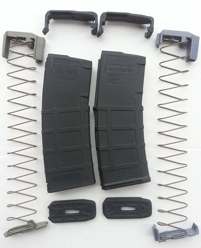 PMAG M2 vs M3 Disassembly Spring