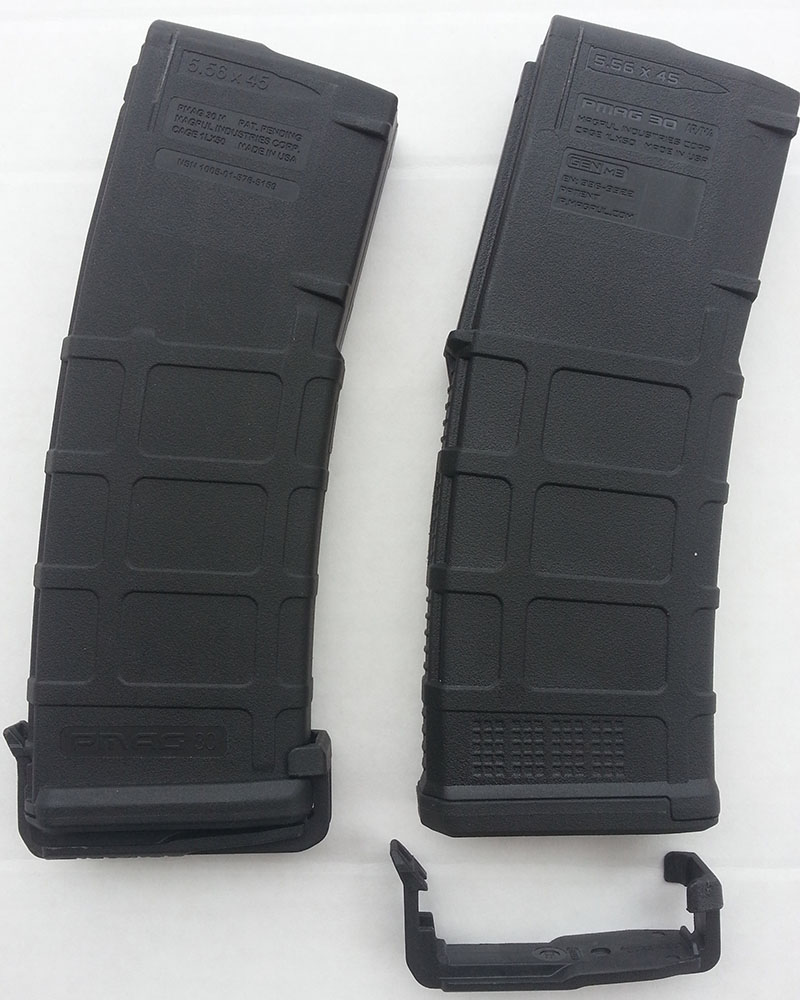 PMAG M2 vs M3 Dust Cover On Bottom