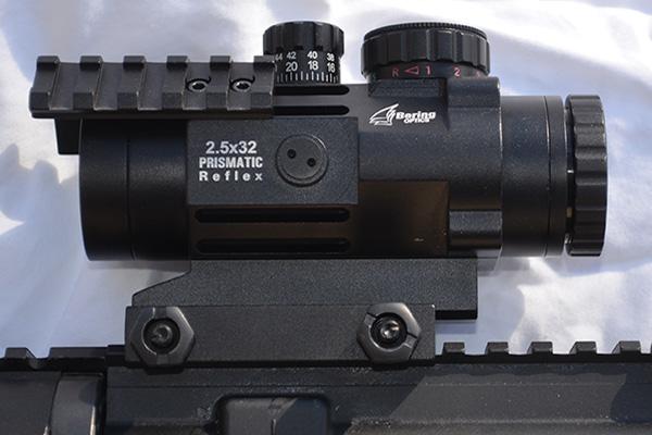 Bering Optics Prismatic Reflex 2.5×32 Review