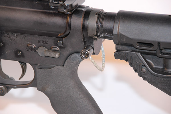 Lancer's single point sling adapter