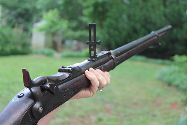 The US Springfield 1873 .45/70 Trapdoor Rifle