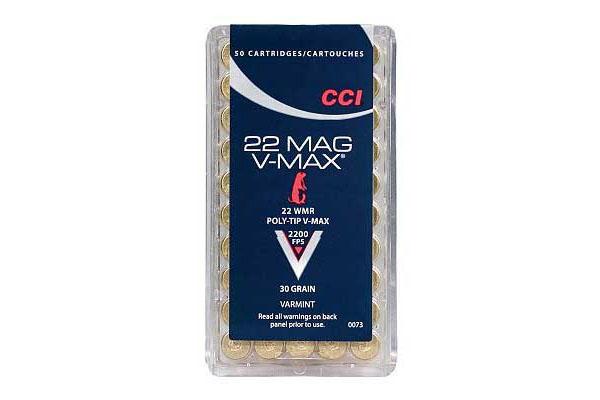 CCI-22-WMR-V-Max