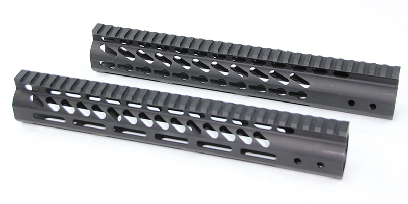 Guntec USA Keymod and MLOK ultralight 12 inch AR handguards