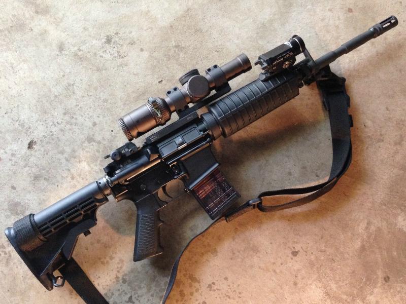 vortex razor HD Gen II BCM M4 carbine clone
