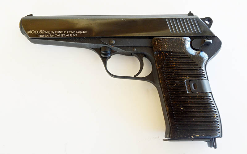 The CZ52 Pistol | The Blog of ...