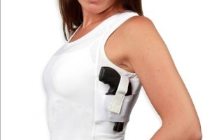 Concealment Shorts with Kidney Holster
