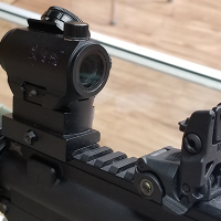 Rifle Iron Sights vs. Red Dots
