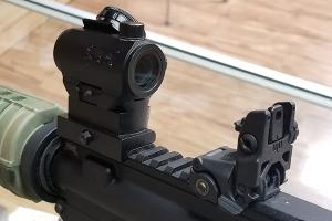 Rifle Iron Sights vs. Red Dots