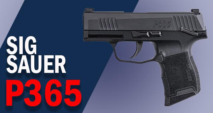 sig sauer p365 best 9mm handgun