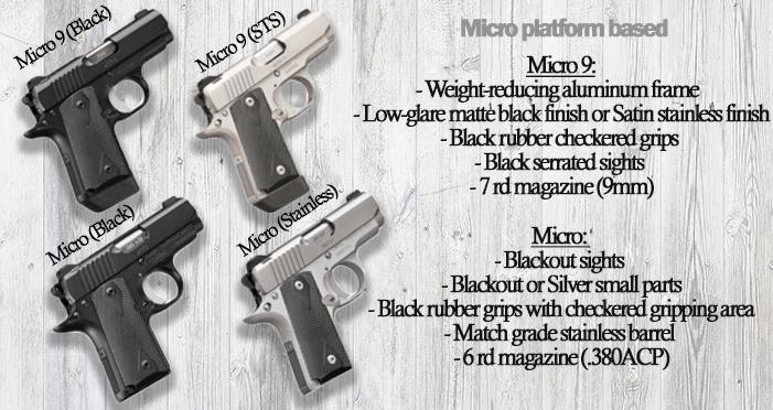 kimber custom lw series micro based