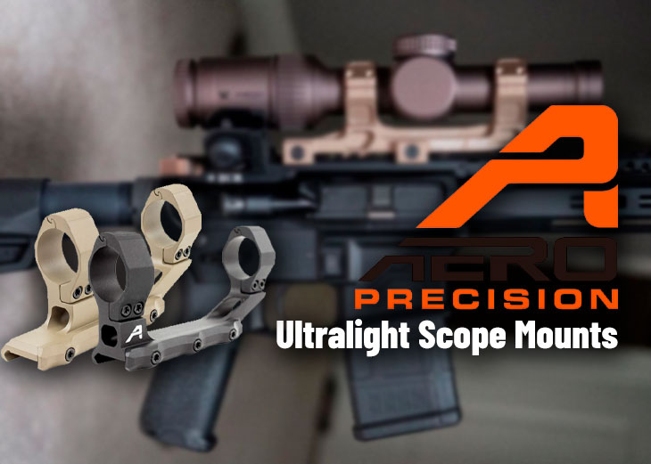 Aero Precision Ultralight Scope Mounts – Best Budget Scope Mounts for AR15