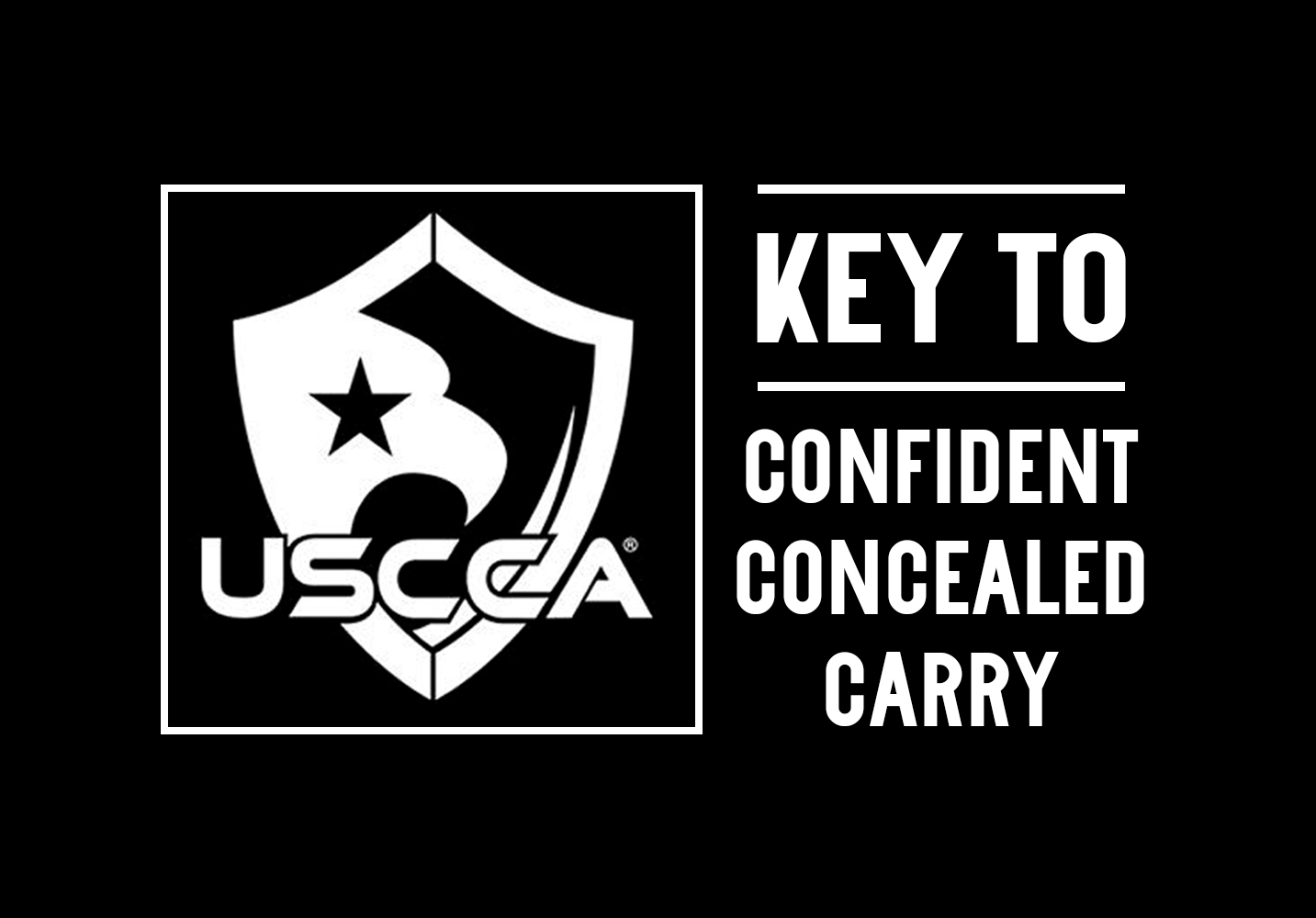 USCCA – Key to Confident Concealed Carry