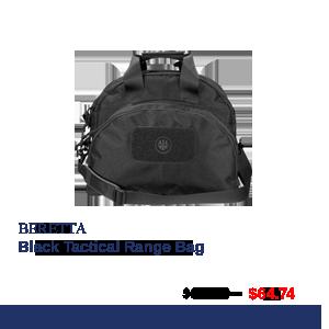 beretta black range bag